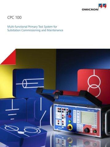 CPC 100 Brochure - Tech-Rentals