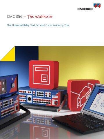 CMC 356 - Product brochure - Tech-Rentals
