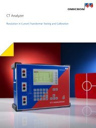 CT Analyzer Brochure - Megavar