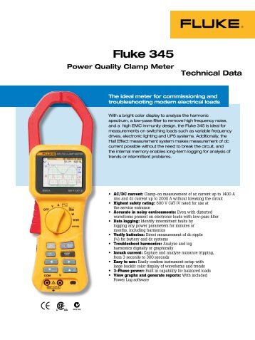 fluke 322 clamp meter instruction manual