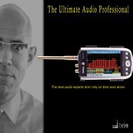 The Ultimate Audio Professional - Ivie Technologies