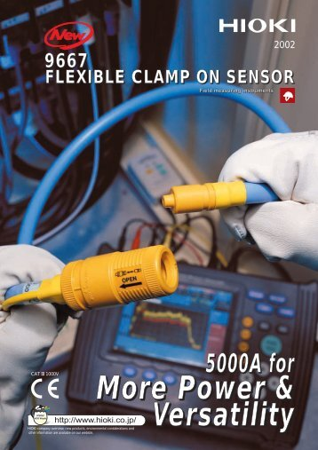 9667 FLEXIBLE CLAMP ON SENSOR - Tech-Rentals
