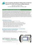 MT9083 Series MT9083A/B/C ACCESS Master - Ross Fiber Optic ... - Page 2