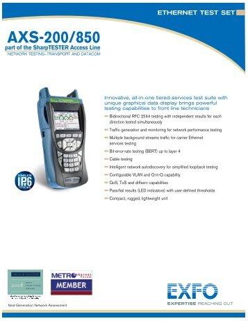 EXFO - AXS-200/850