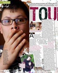 Bravo Girl [15] vom 06.07.11 Tourette-Syndrom: Report über Oliver