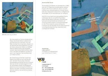 VKU Cubic Worlds III - Christoph Kern