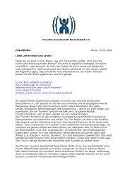 Lehrerfortbildung Iserlohn - Tourette-Gesellschaft Deutschland