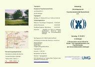 Einladung Jahrestagung der Tourette-Gesellschaft Deutschland e.V. ...