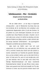 Vortrag von Kerstin Kilian - Tourette-Gesellschaft Deutschland
