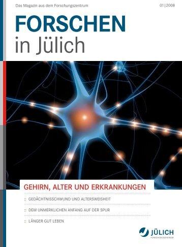 Gehirn, Alter und erkrAnkunGen - Tourette-Gesellschaft Deutschland