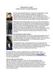 Schluckauf im Kopf (23 - Tourette-Gesellschaft Deutschland