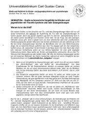 20120104_Studienaufruf Sensation - Tourette-Gesellschaft ...