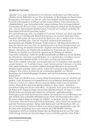 Qualitaet im Tourismus 12-2007.pdf - Tourism Watch