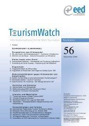 Schwerpunkt Klimawandel - Tourism Watch
