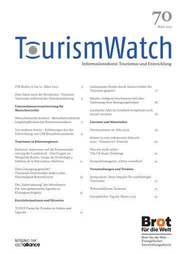 Tourism Watch