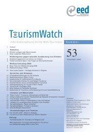 Informationsdienst Dritte Welt-Tourismus - Tourism Watch