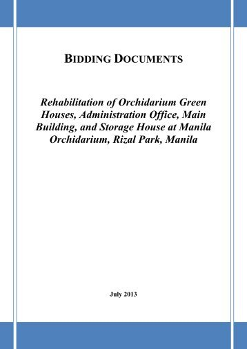 Letter Of Intent For Bidding Philippines - full text ...