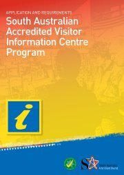 Visitor Information Centres Accreditation Handbook - South ...