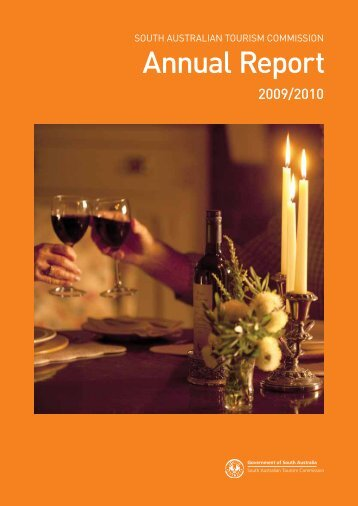 2009/2010 Annual Report - South Australian Tourism Commission ...
