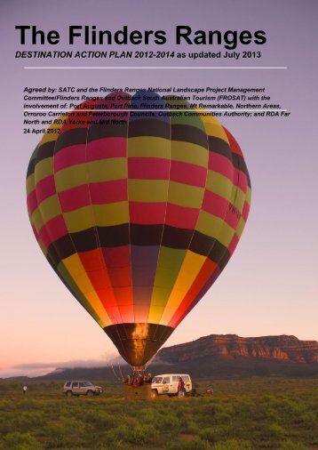 Flinders Ranges Destination Action Plan - South Australian Tourism ...
