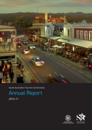 2010/2011 Annual Report - South Australian Tourism Commission ...