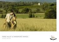 yarra valley & dandenong ranges gUIde BooK - Tourism Victoria