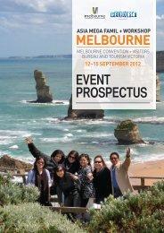 Asia Mega Famil & Workshop Prospectus - Tourism Victoria