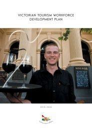victorian tourism workforce development plan - Tourism Victoria