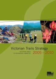 The Victorian Trails Strategy 2005 –2010 - Tourism Victoria