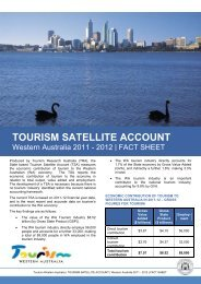TSA 2011-12 [pdf ] - Tourism Western Australia