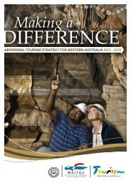 Aboriginal Tourism Strategy for Western Australia 2011-2015