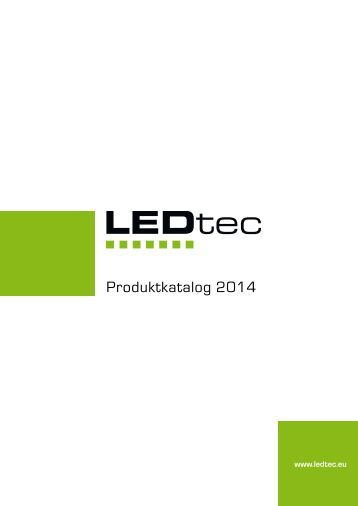 Produktkatalog LED Stripes 2014