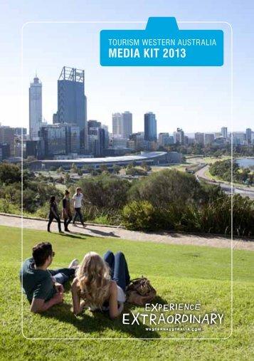 MEDIA KIT 2013 - Tourism Western Australia
