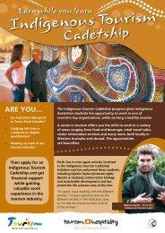 Indigenous Tourism Cadetship [pdf ] - Tourism Western Australia