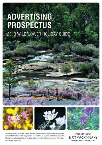 advertising prospectus - Tourism Western Australia