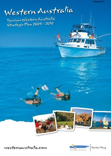TourismWA - Strategic Plan web.indd - Tourism Western Australia ...