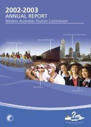 Annual Report 2002 - 2003 [pdf ] - Tourism Western Australia