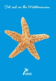 Set sail on the Mediterranean - Tourismbrochures.net