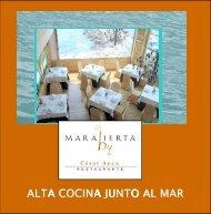 ALTA COCINA JUNTO AL MAR - Tourismbrochures.net