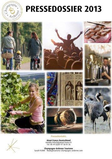 pressedossier 2013 - Comité régional du tourisme de Champagne ...