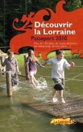 Découvrir la Lorraine - Tourisme en Lorraine