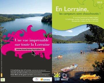 Campings Qualité - Tourisme en Lorraine