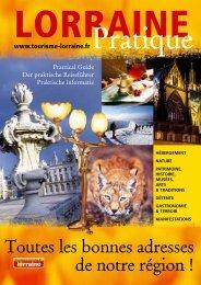 Pratique - Tourisme en Lorraine