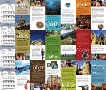 Carte Touristique de la Lorraine - Tourisme en Lorraine