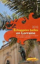 n°1 City DÉCouVErtE - Tourisme en Lorraine