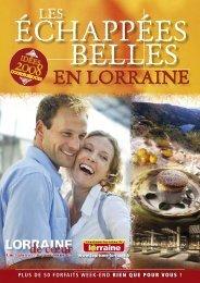 CRTL Echap.belles-F 01>17.indd - Tourisme en Lorraine