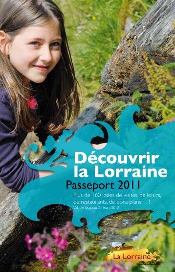Passeport Lorraine - Tourisme en Lorraine