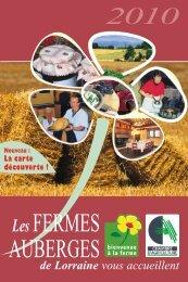 LesFERMES AUBERGES - Tourisme en Lorraine