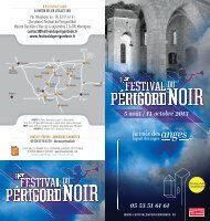 Télécharger - Festival de musique du Périgord Noir