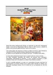Bilan Salon MAP Le Monde Paris 08 - Tourisme en Lorraine